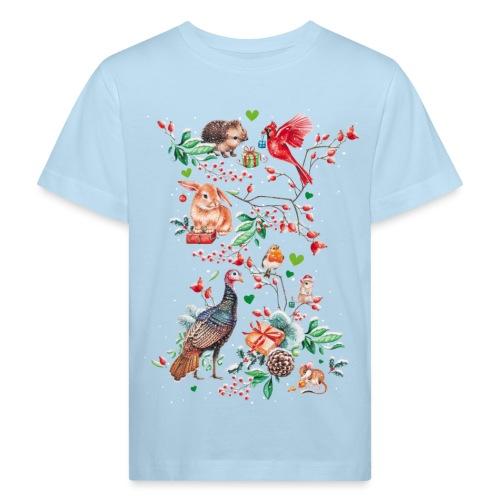 Happy vegan holidays! - Kids' Organic T-Shirt