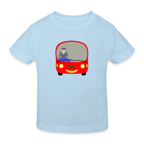 bus front - Kids' Organic T-Shirt