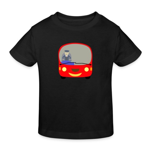 bus front - Kids' Organic T-Shirt
