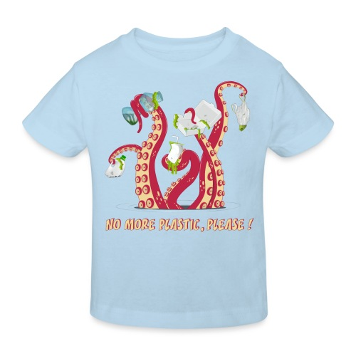 No more plastic ! - T-shirt bio Enfant