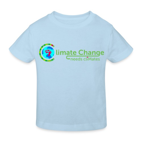 Climate Change needs cliMates - Kids' Organic T-Shirt