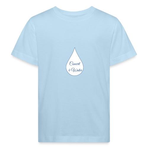 Concert 4 Water's Image Logo - Kids' Organic T-Shirt