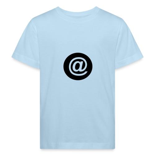 arroba_circulo - Camiseta ecológica niño