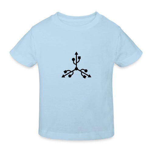 USB Art - Camiseta ecológica niño