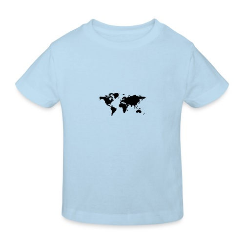 mundo - Camiseta ecológica niño