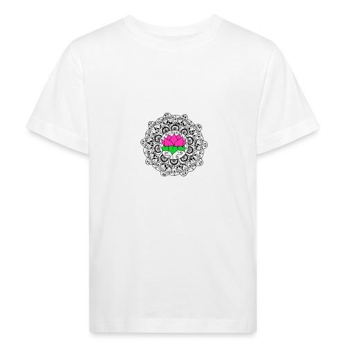 Lotus Flower Mandala - Kids' Organic T-Shirt