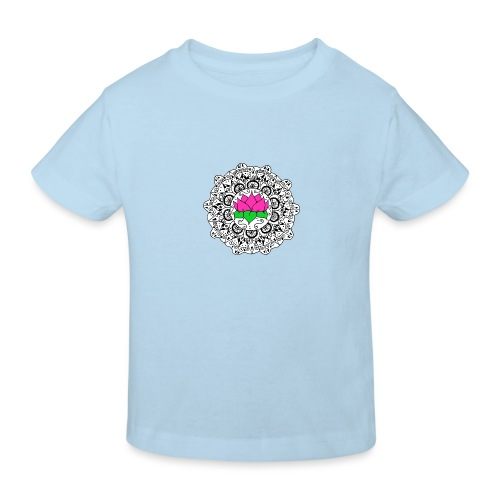 Lotus Flower Mandala - Kids' Organic T-Shirt