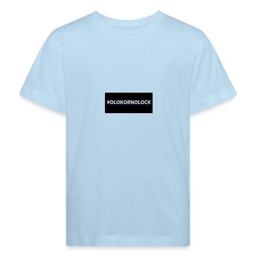 #OLOKORNOLOCK - Ekologisk T-shirt barn