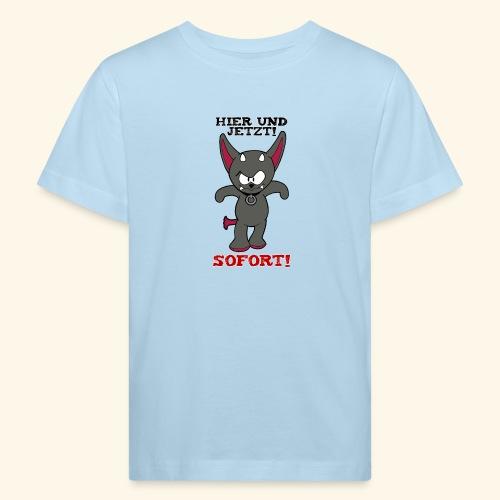 Zwergschlammelfen - Hier und Jetzt, Sofort! - Kinder Bio-T-Shirt
