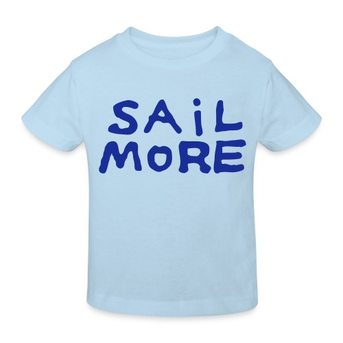 Sailmoreshirt Vorn - Kinder Bio-T-Shirt
