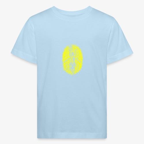 Fluga Yellow - Ekologisk T-shirt barn