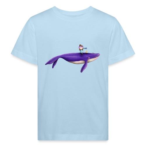 Mademoiselle KIki und der fliegende Wal - Kinder Bio-T-Shirt