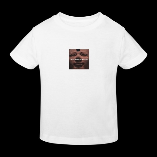 Why be a king when you can be a god - Kids' Organic T-Shirt