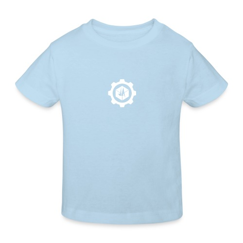 Jebus Adventures Cog White - Kids' Organic T-Shirt