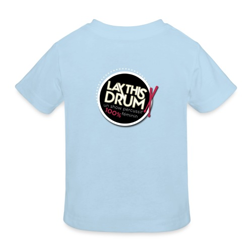 Collection 1/logo rond doré - T-shirt bio Enfant