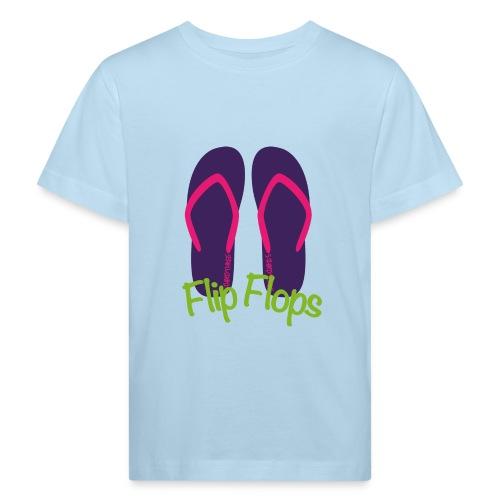 S33 flipflops - Kinder Bio-T-Shirt