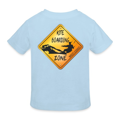KITEBOARDING ZONE WEST COAST - T-shirt bio Enfant