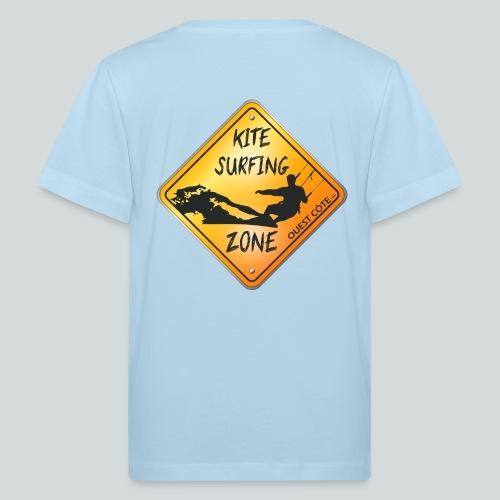 KITESURFING ZONE OUEST CÔTE - T-shirt bio Enfant