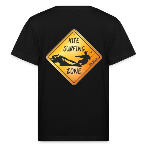 KITESURFING ZONE BREIZH - T-shirt bio Enfant