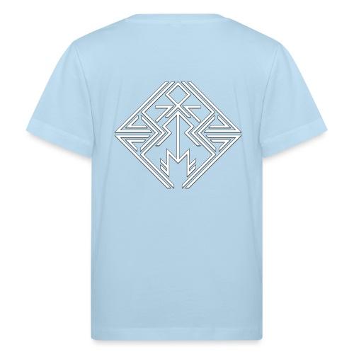 JDW-Designs Logo - Kinderen Bio-T-shirt