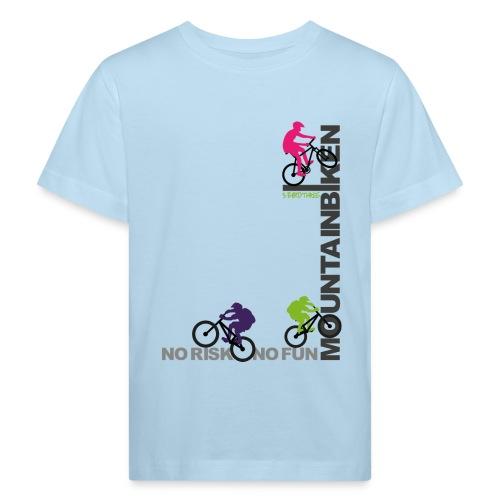 S33 Mountainbiken - Kinder Bio-T-Shirt
