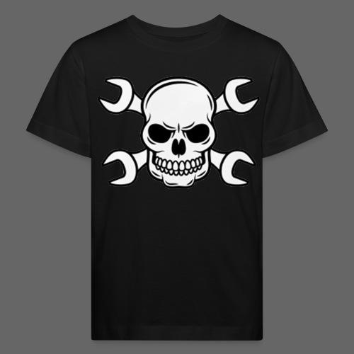 MEKKER SKULL - Organic børne shirt