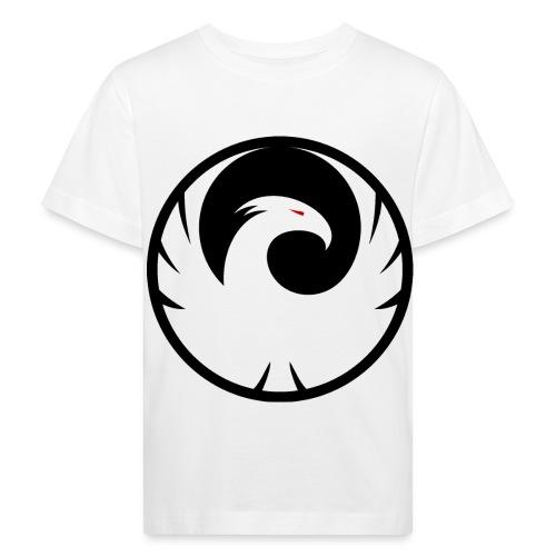 Phönix Logo Schattierung Phoenix schwarz black - Kinder Bio-T-Shirt