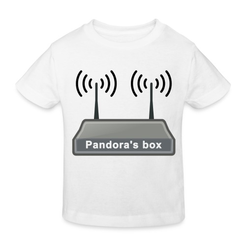 Pandora's box - Kinder Bio-T-Shirt
