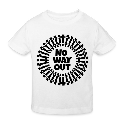 no way out - Camiseta ecológica niño