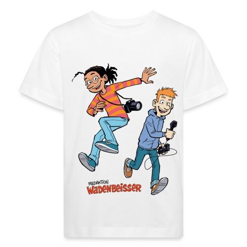 GEOlino Wadenbeißer-Comic: Redaktionsteam im Einsa - Kinder Bio-T-Shirt