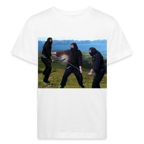 Chasvag ninja - Økologisk T-skjorte for barn