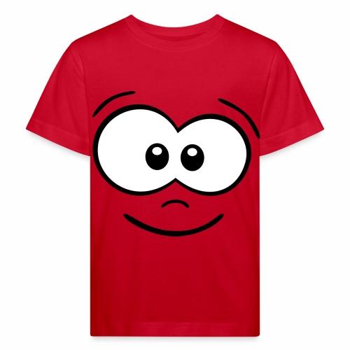Gesicht fröhlich - Kinder Bio-T-Shirt
