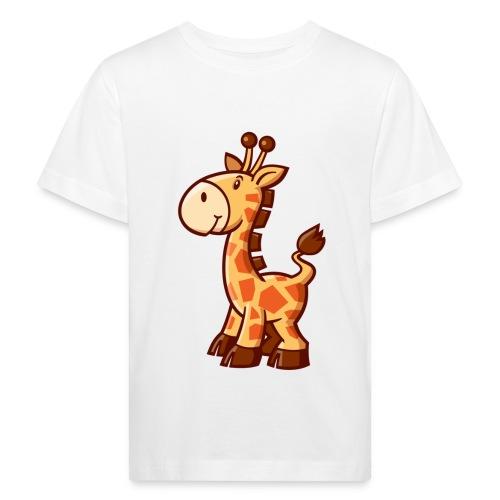 vl076e_giraffe_4c - Kinder Bio-T-Shirt