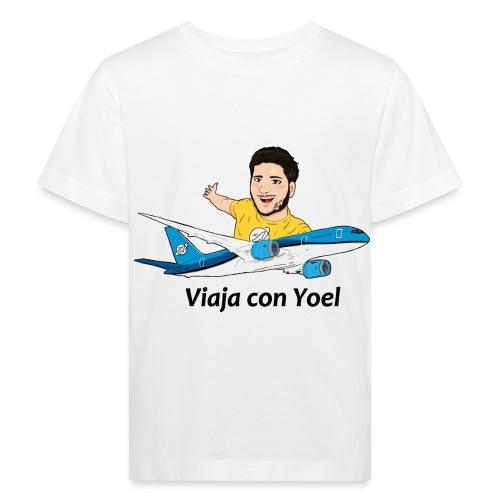 Frequent Flyer Yellow Viaja con Yoel - Camiseta ecológica niño