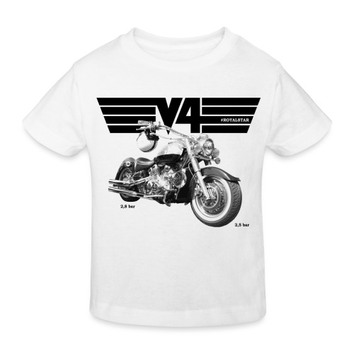 Royal Star Chopper WINGS 2 - Kinder Bio-T-Shirt