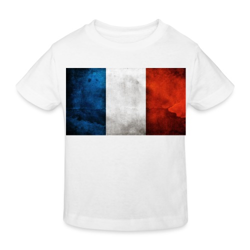 France Flag - Kids' Organic T-Shirt