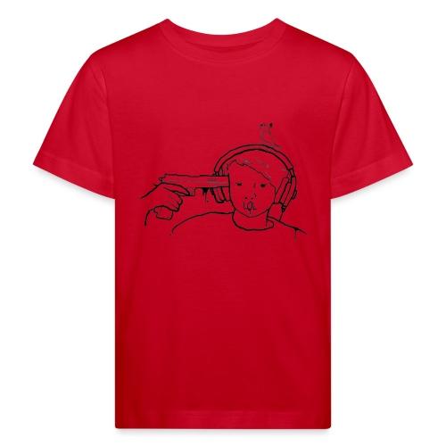 kys valkoinen - Lasten luonnonmukainen t-paita