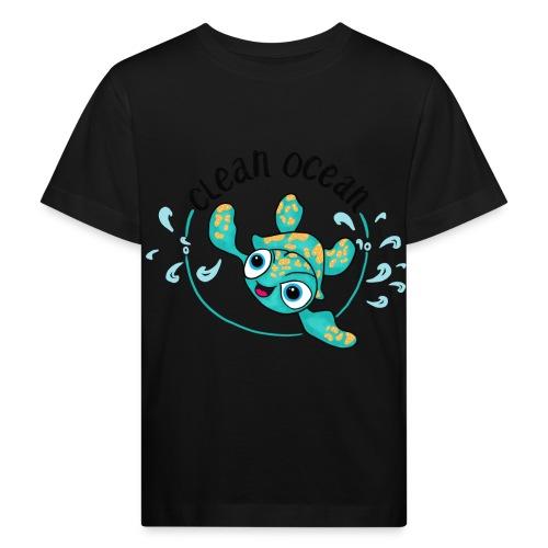 Clean Ocean - Kids' Organic T-Shirt