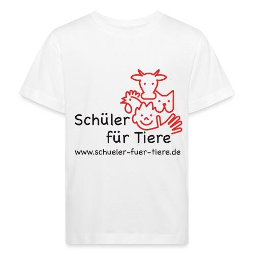 Logo Farbe (2x) - Kinder Bio-T-Shirt