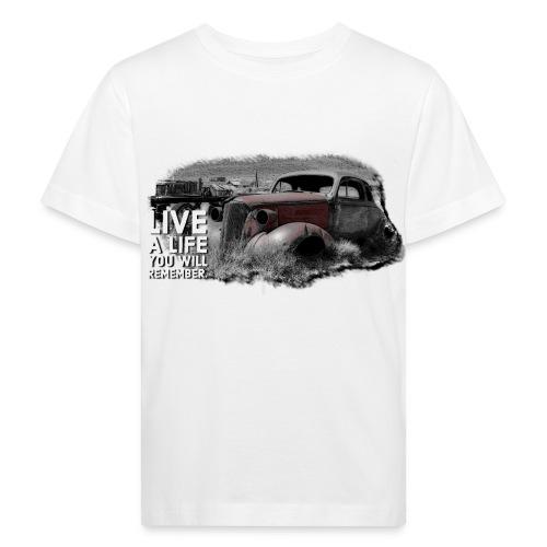 Live a life Oldtimer - Kinder Bio-T-Shirt