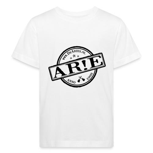 Backdrop AR E stempel zwart gif - Kinderen Bio-T-shirt