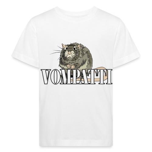 Vompatti - Lasten luonnonmukainen t-paita