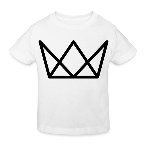 TKG Krone schwarz CMYK - Kinder Bio-T-Shirt