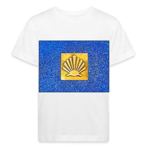 Scallop Shell Camino de Santiago - Kids' Organic T-Shirt