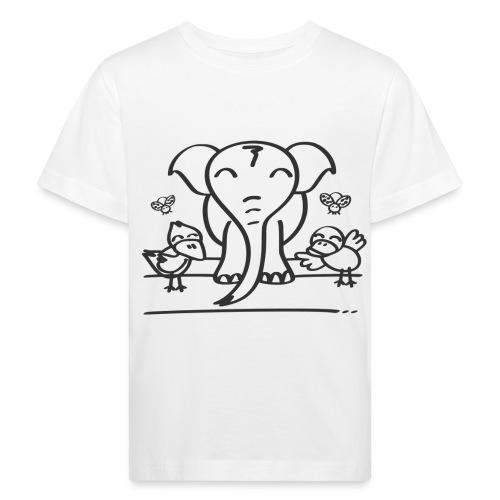 78 elephant - Kinder Bio-T-Shirt