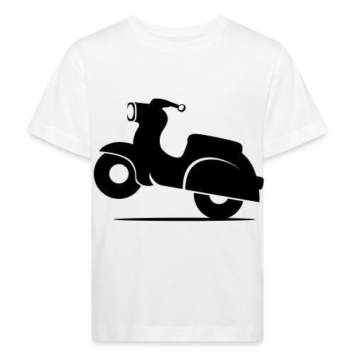 Schwalbe knautschig - Kinder Bio-T-Shirt