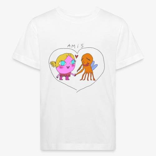 les meilleurs amis - T-shirt bio Enfant