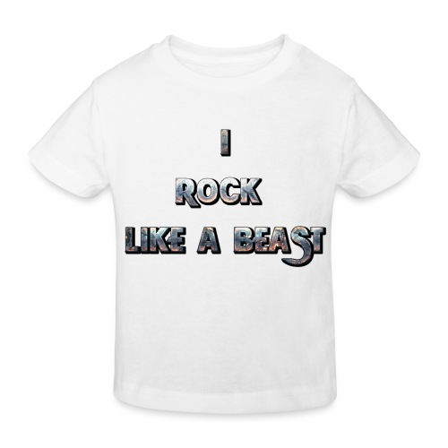 IROCKLIKEABEAST Big png - Ekologisk T-shirt barn