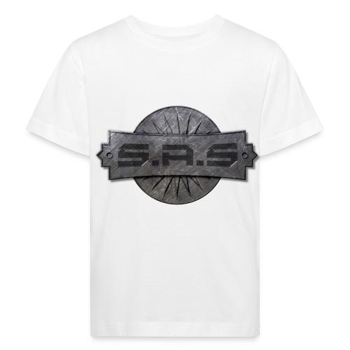 metal background scratches surface 18408 3840x2400 - Kinderen Bio-T-shirt
