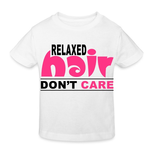 Relaxed Hair Don't Care - Kids' Organic T-Shirt